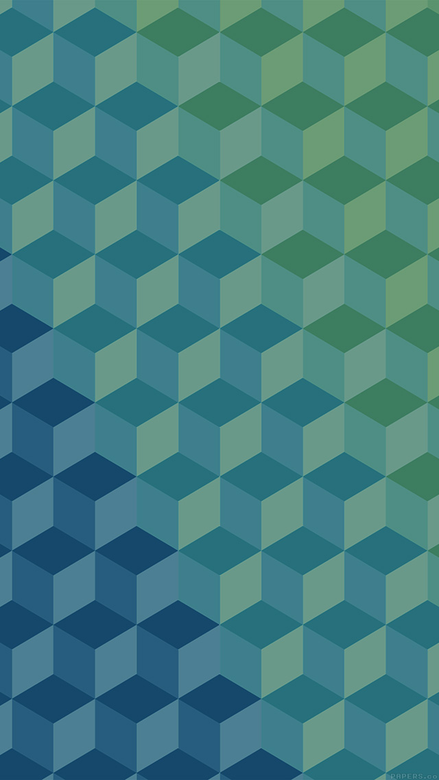 freeios8.com-iphone-4-5-6-plus-ipad-ios8-vg39-polygon-blue-art-graphic-pattern