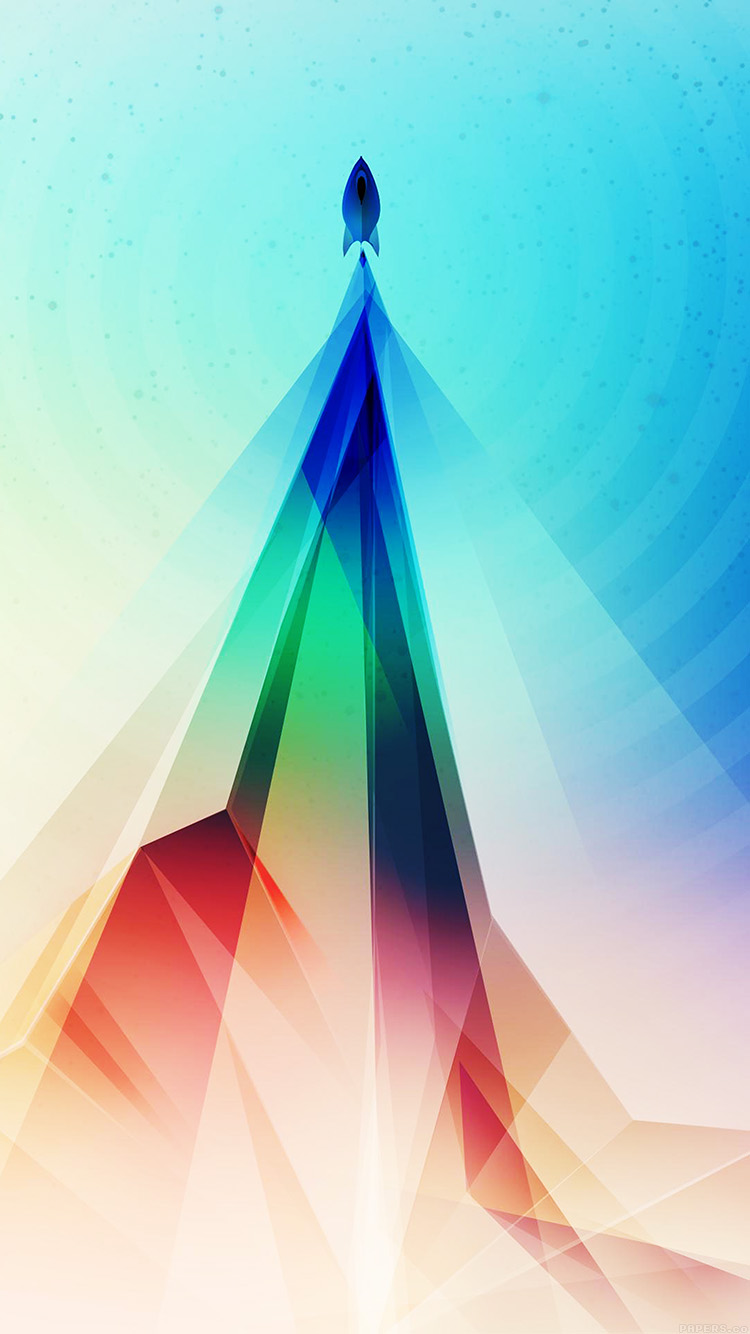 iPhone6papers.co-Apple-iPhone-6-iphone6-plus-wallpaper-vg87-rainbow-blue-tower-graphic-digital-pattern