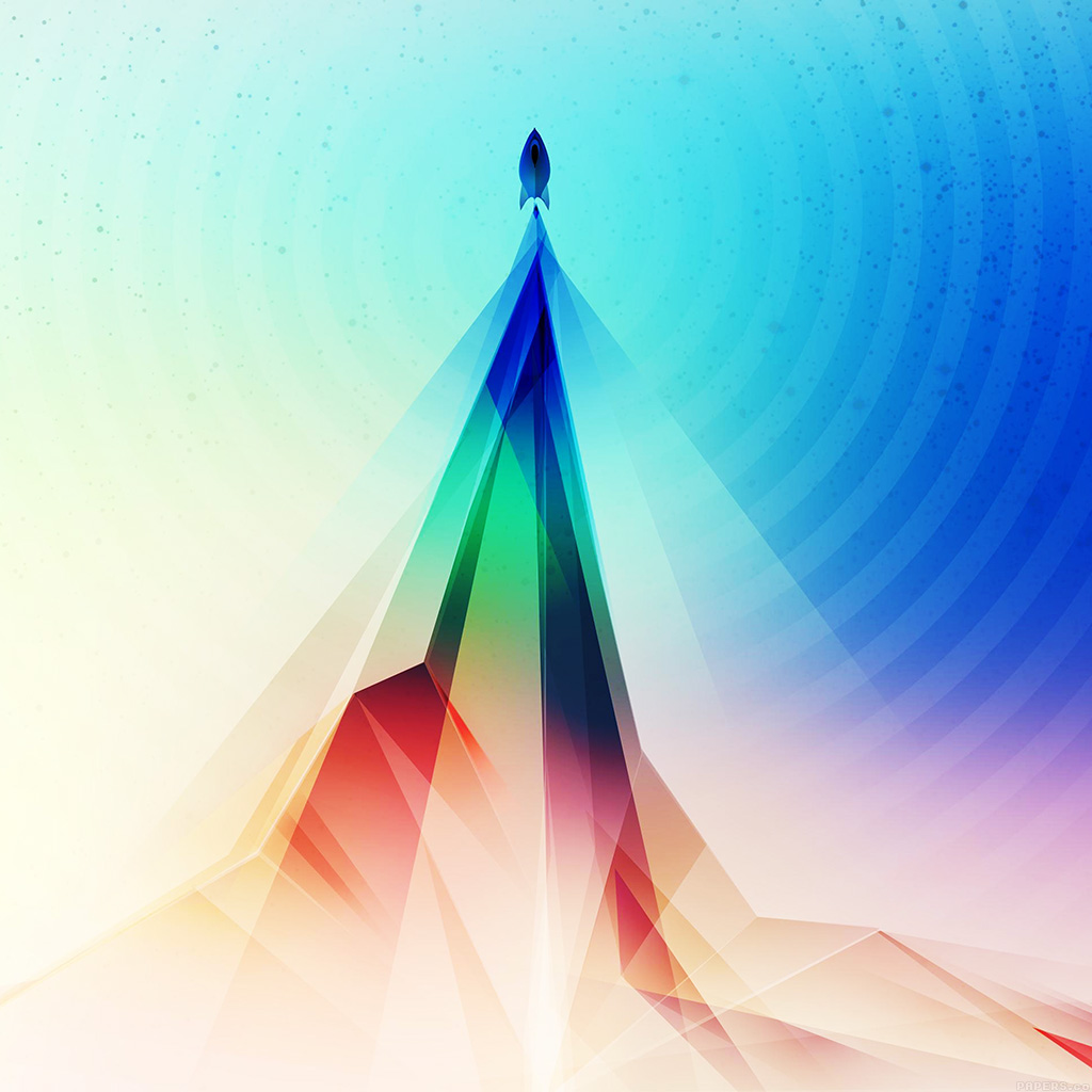 android-wallpaper-vg87-rainbow-blue-tower-graphic-digital-pattern-wallpaper