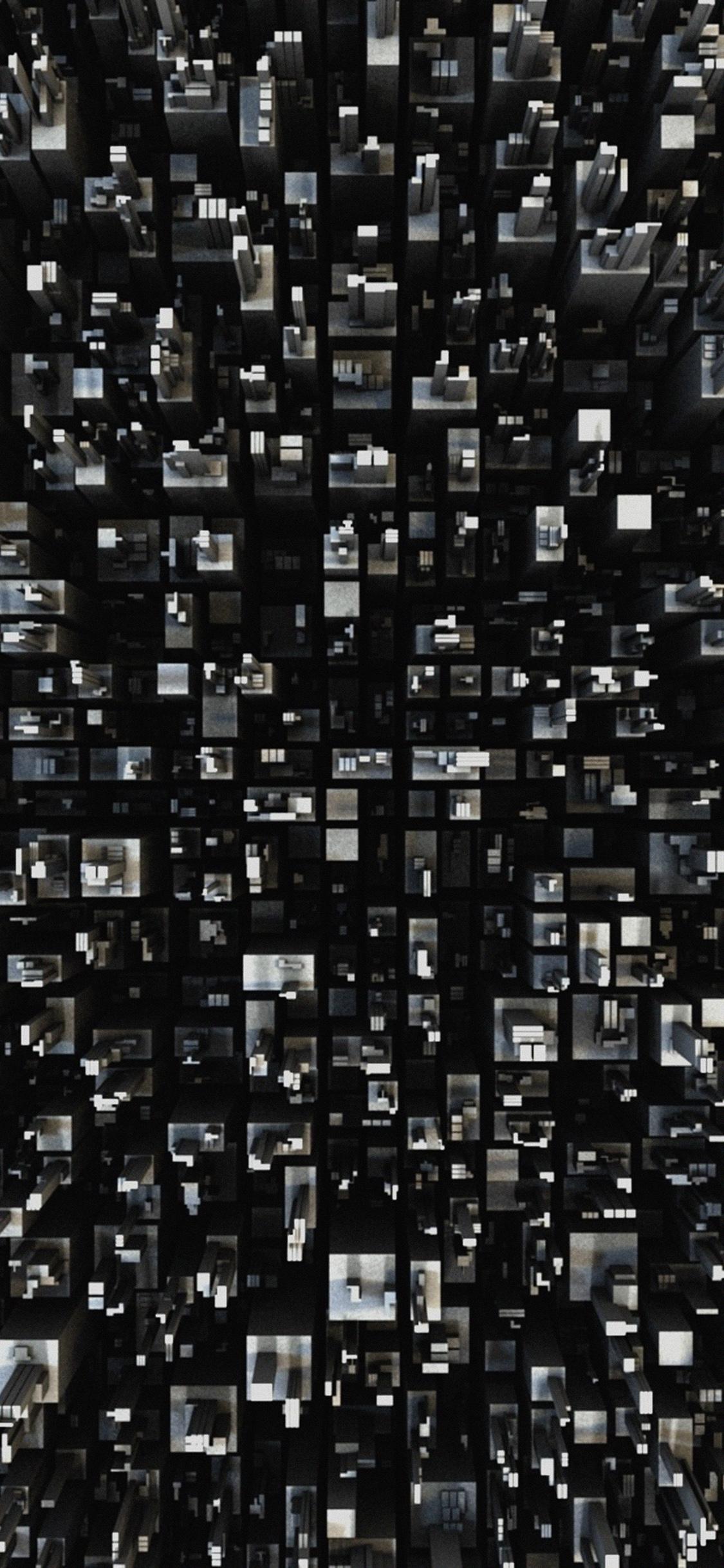 Iphonexpapers Vh28 3d Art Building Pattern