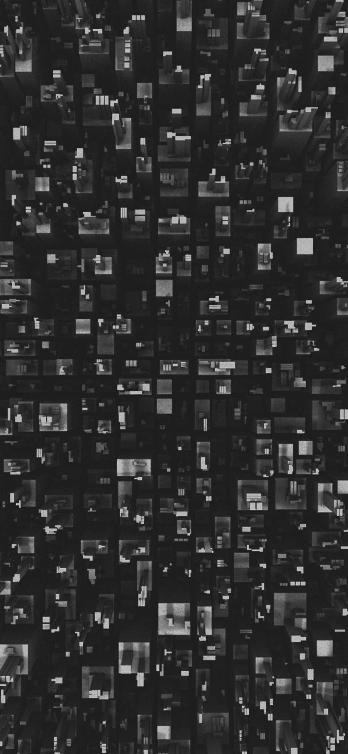 Vh30 3d Art Building Dark Pattern