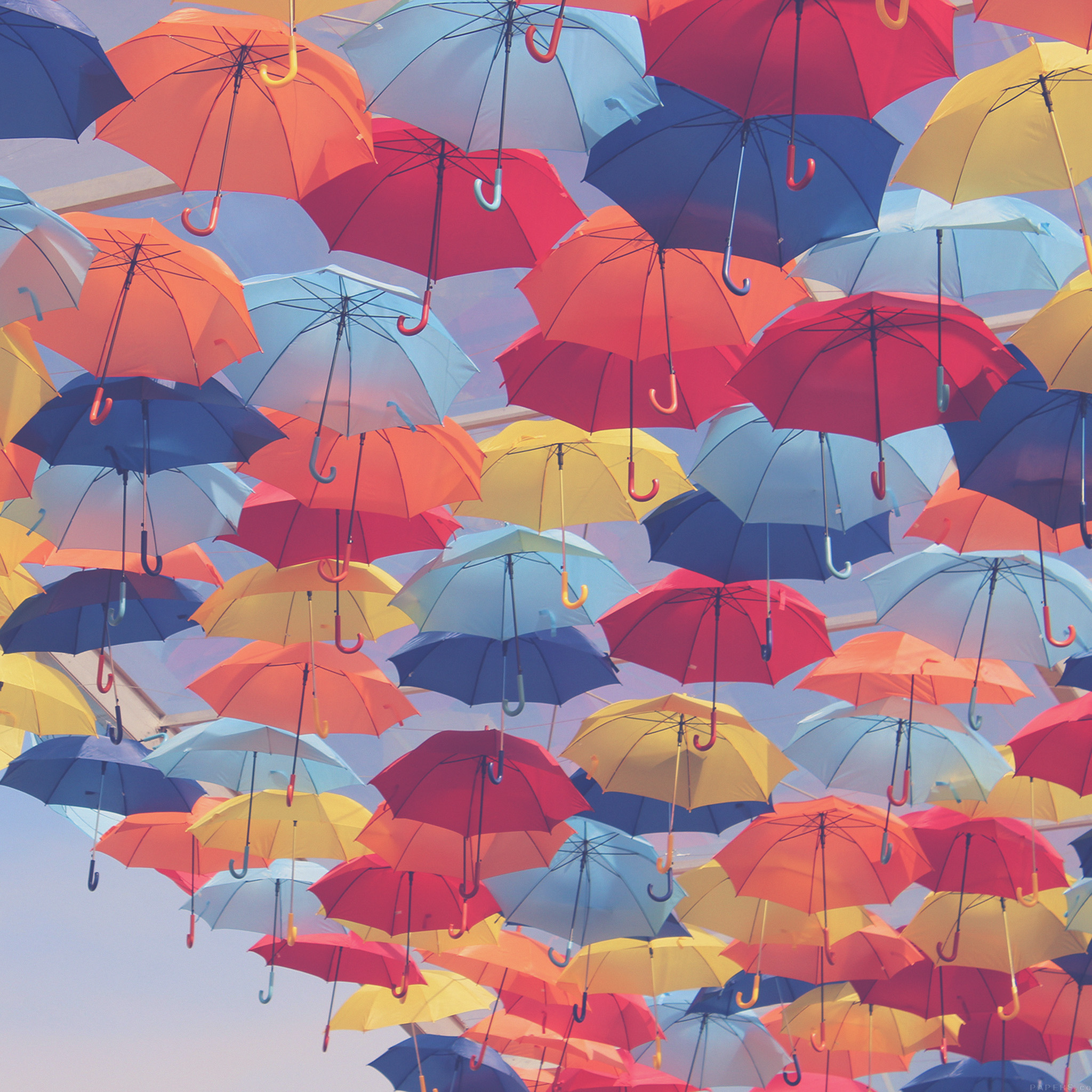 FREEIOS7 | vh37-umbrella-party-color-pattern - parallax HD