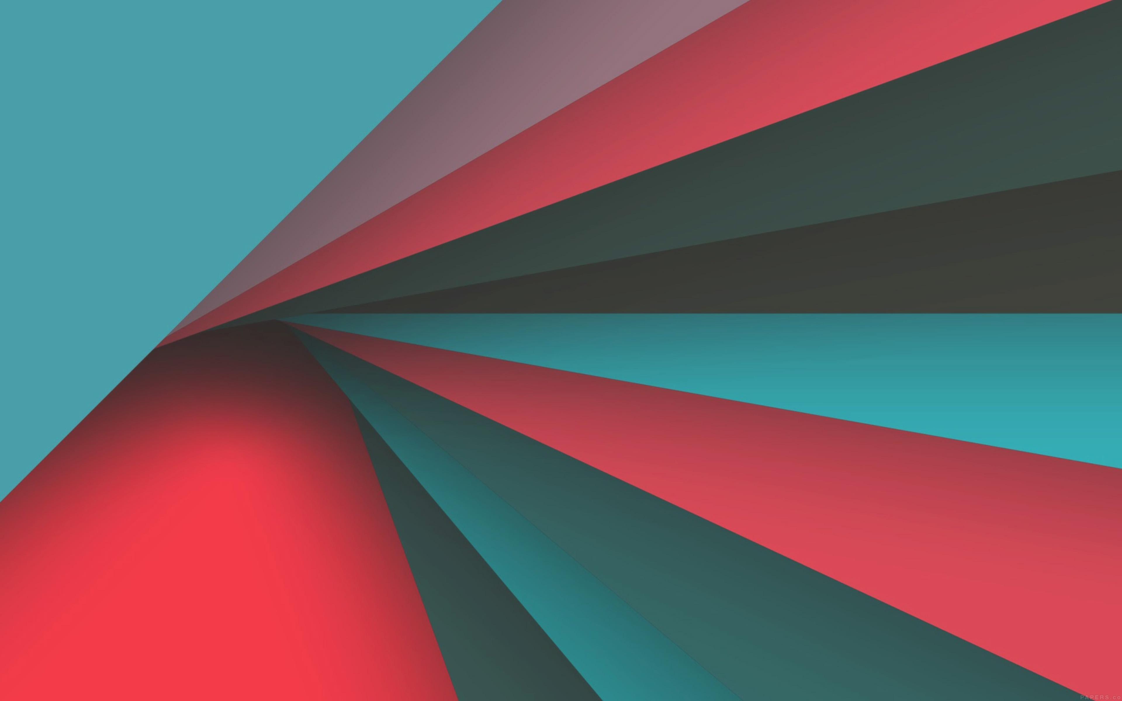 Vh71 Rainbow Red Blue Pattern