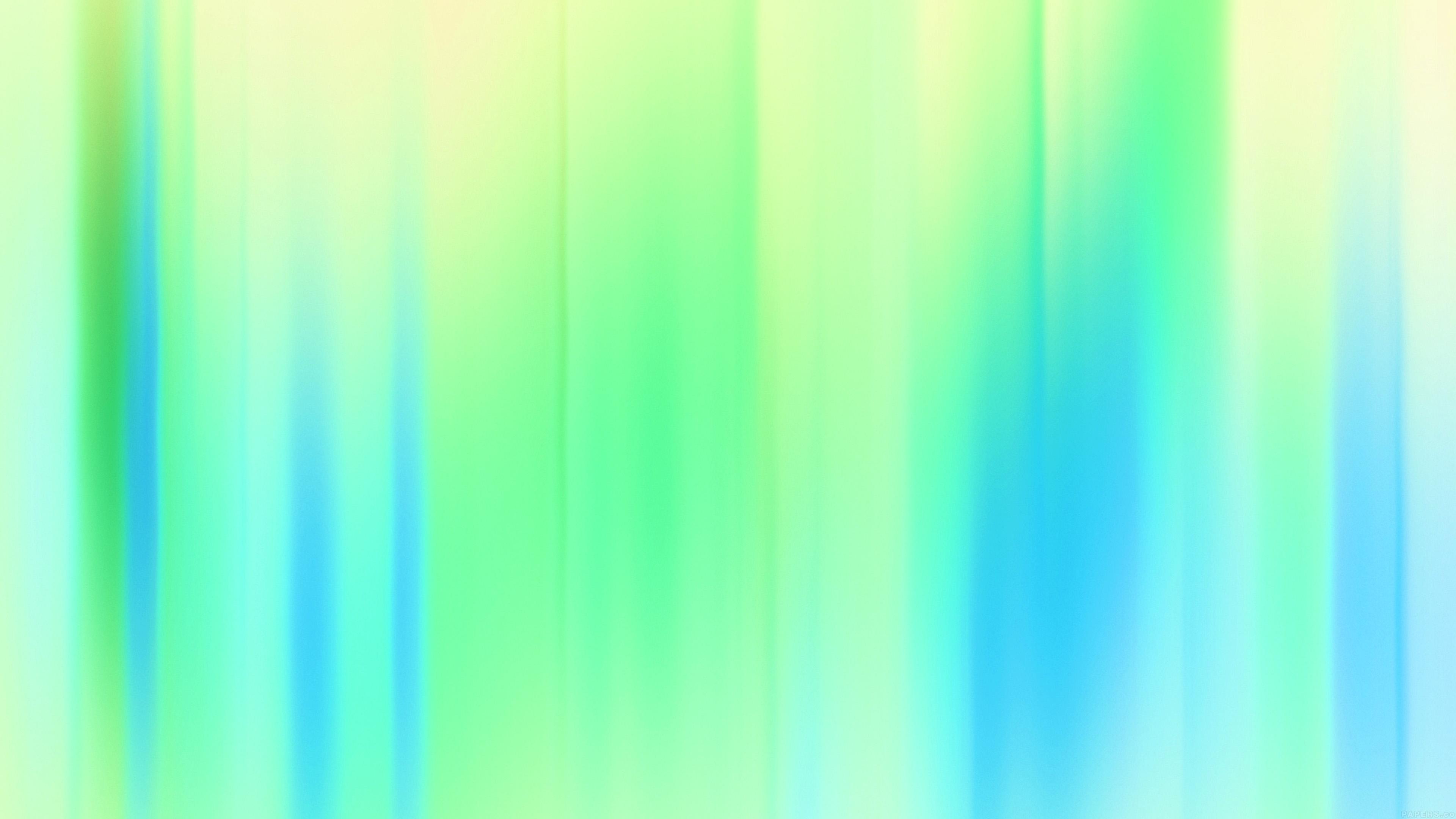Vh86 Retro Modern Abstract Art White Green Pattern