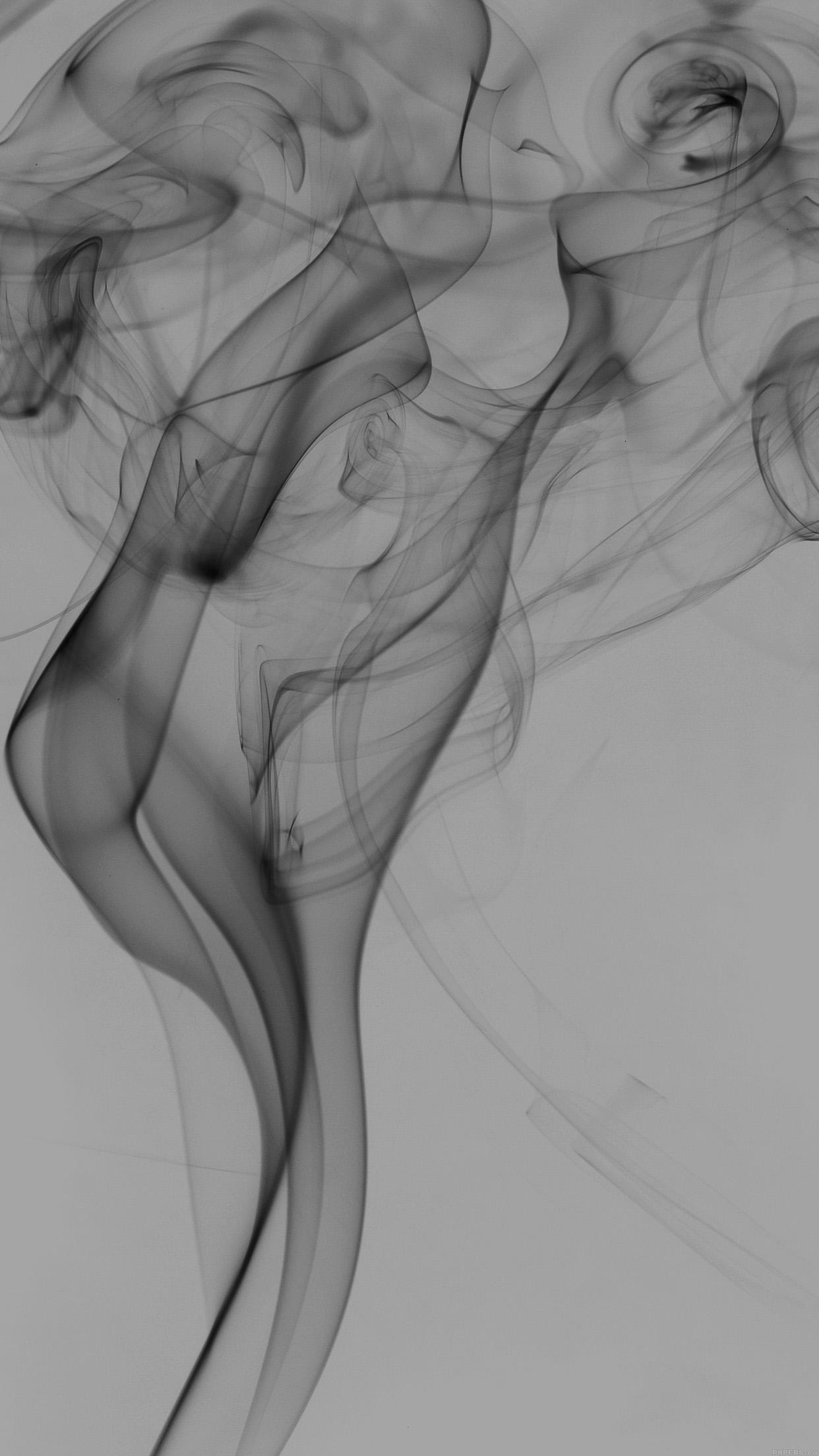 Vi50 Smoky White Bw Black Texture Smoke Pattern