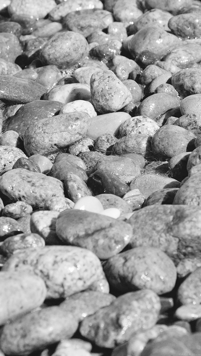 freeios8.com-iphone-4-5-6-plus-ipad-ios8-vi73-stone-rocks-beach-nature-pattern-white-bw