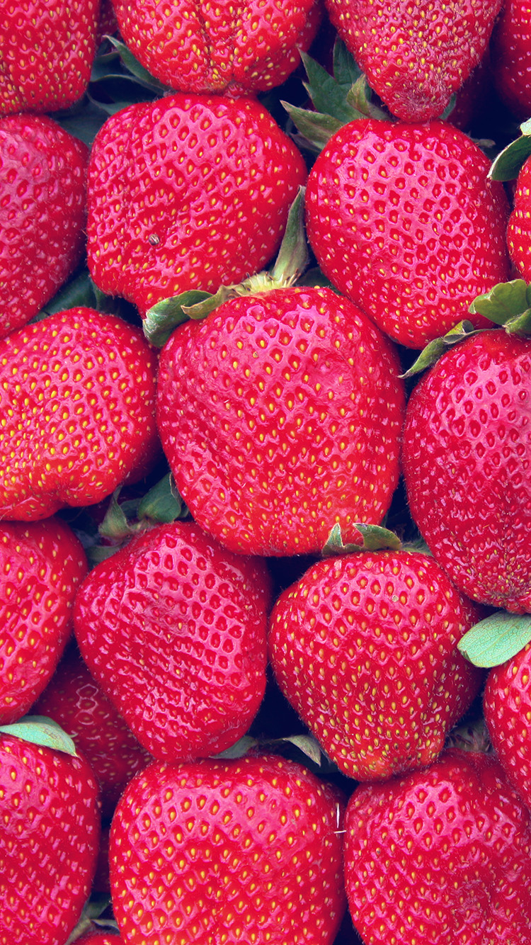 iPhonepapers.com-Apple-iPhone8-wallpaper-vi80-strawberry-spring-fruit-pattern