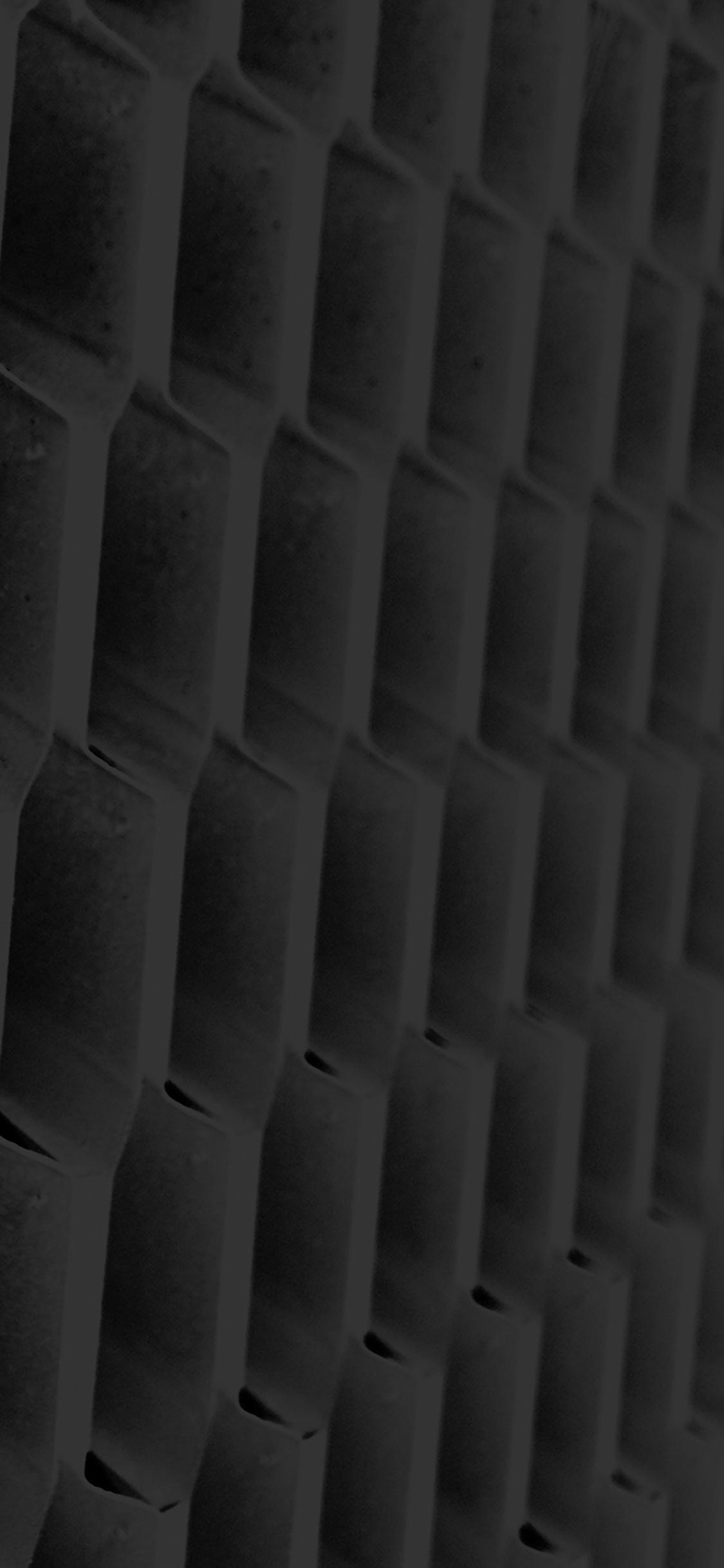 iPhoneXpapers.com-Apple-iPhone-wallpaper-vi93-honeycomb-metal-dark-bw-pattern