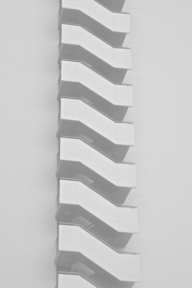Freeios8 Com Iphone Wallpaper Vj14 Stairs Achitecture Bw