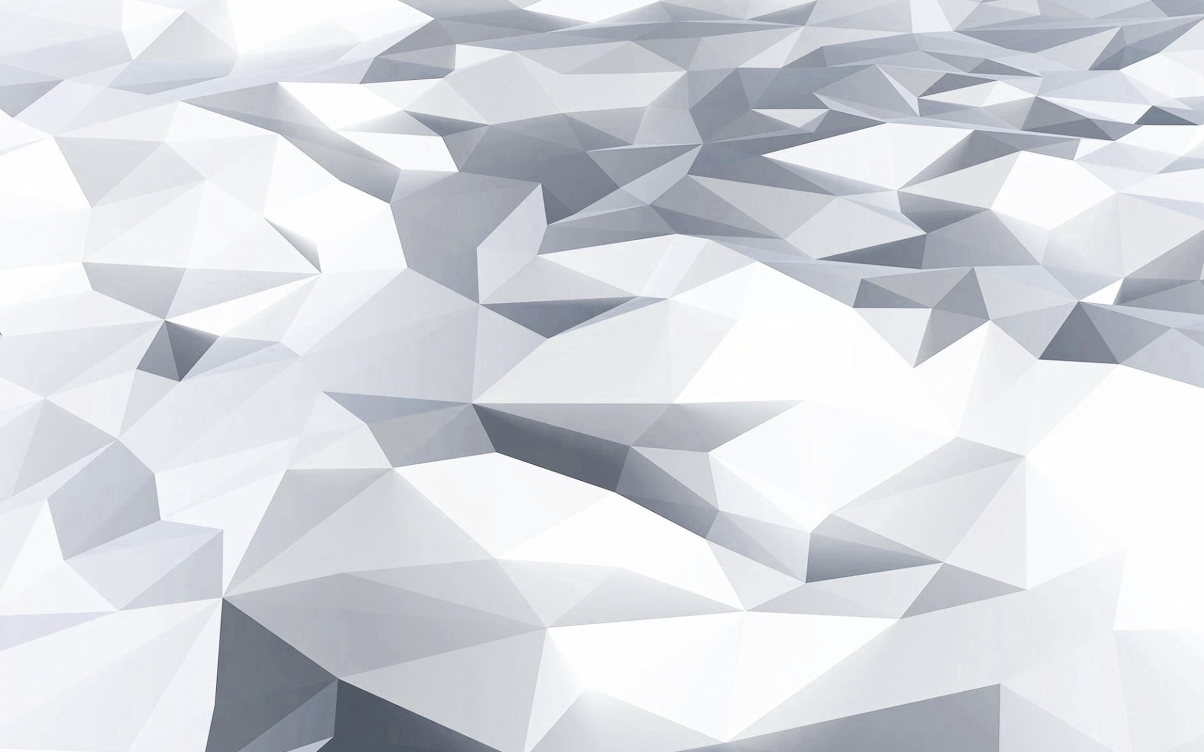 vj28lowpolyartwhitebluepatternwallpaper