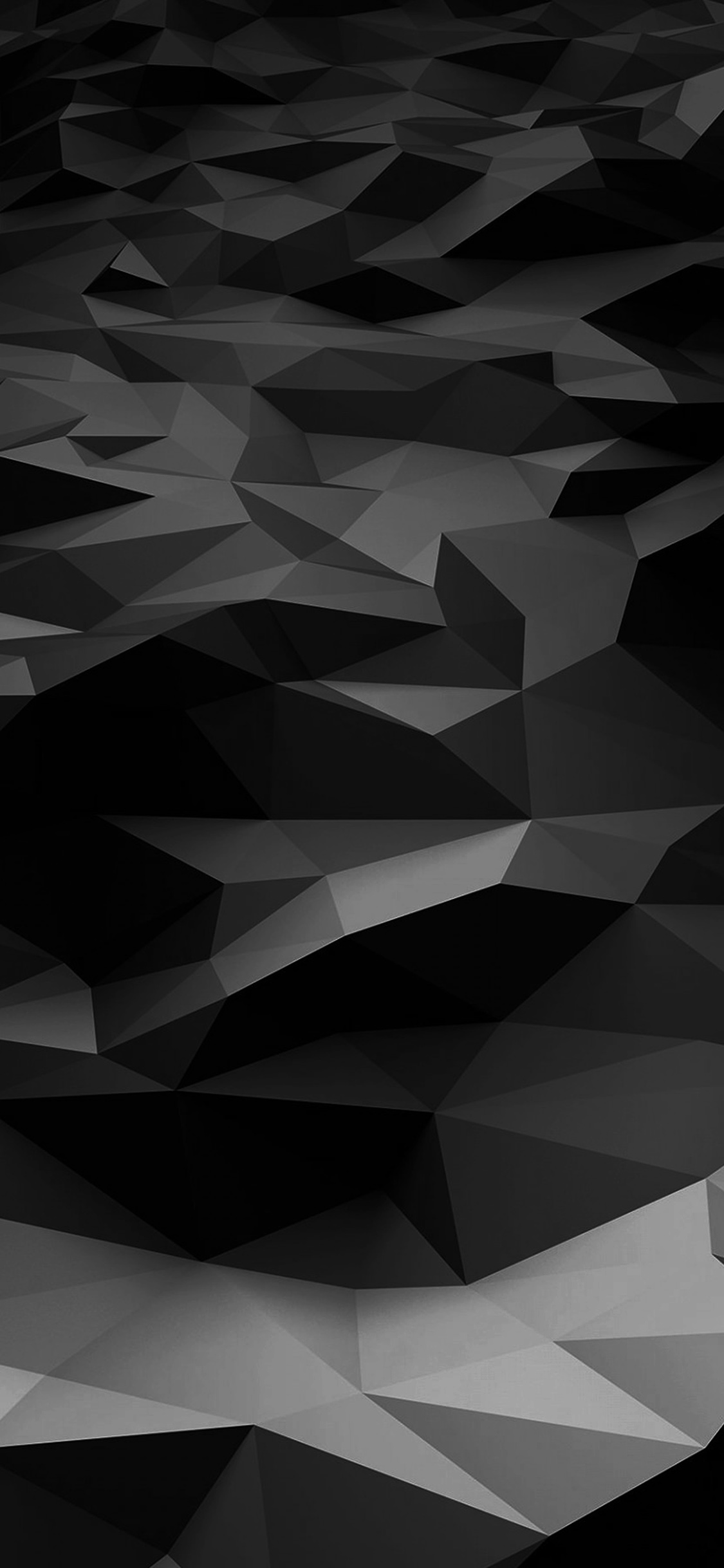 iPhoneXpapers.com-Apple-iPhone-wallpaper-vj29-low-poly-art-dark-bw-pattern