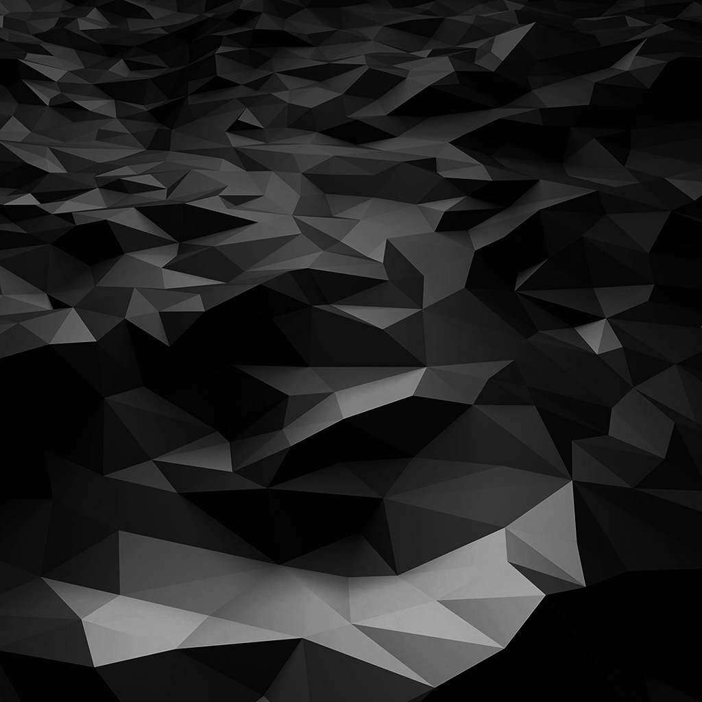 vj29 low poly art dark bw pattern. Black Bedroom Furniture Sets. Home Design Ideas