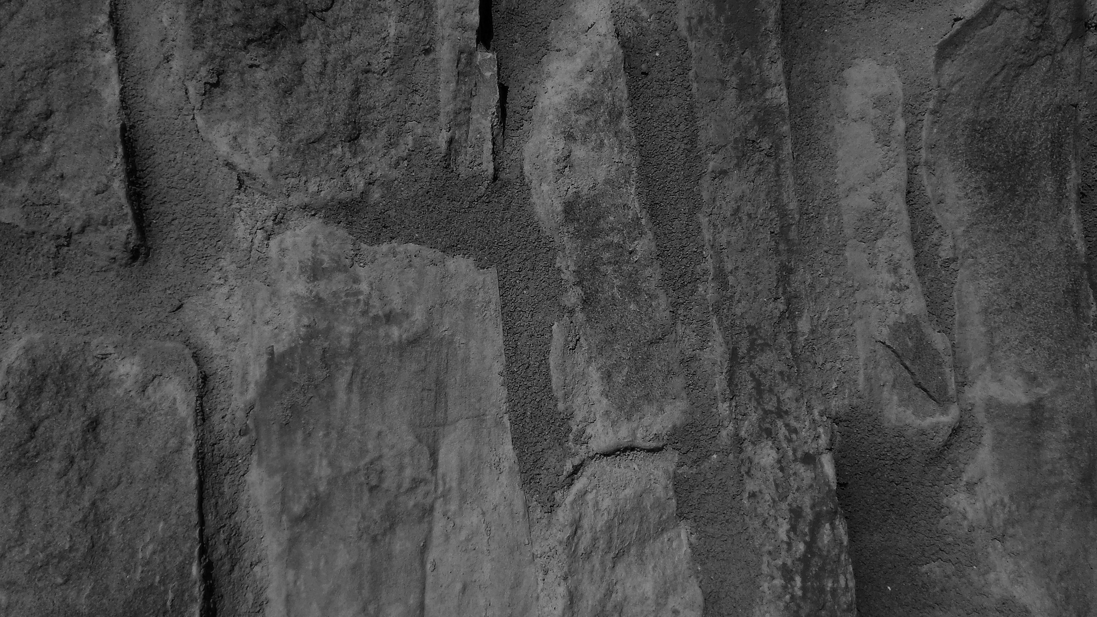 Vj42 Brick Wall Texture Pattern Dark Bw Wallpaper