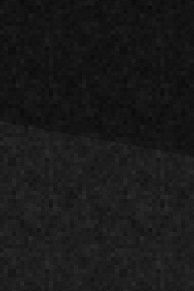 freeios7.com-iphone-4-iphone-5-ios7-wallpapervj50-cube-mosaic-pattern-dark-black-bw-iphone4