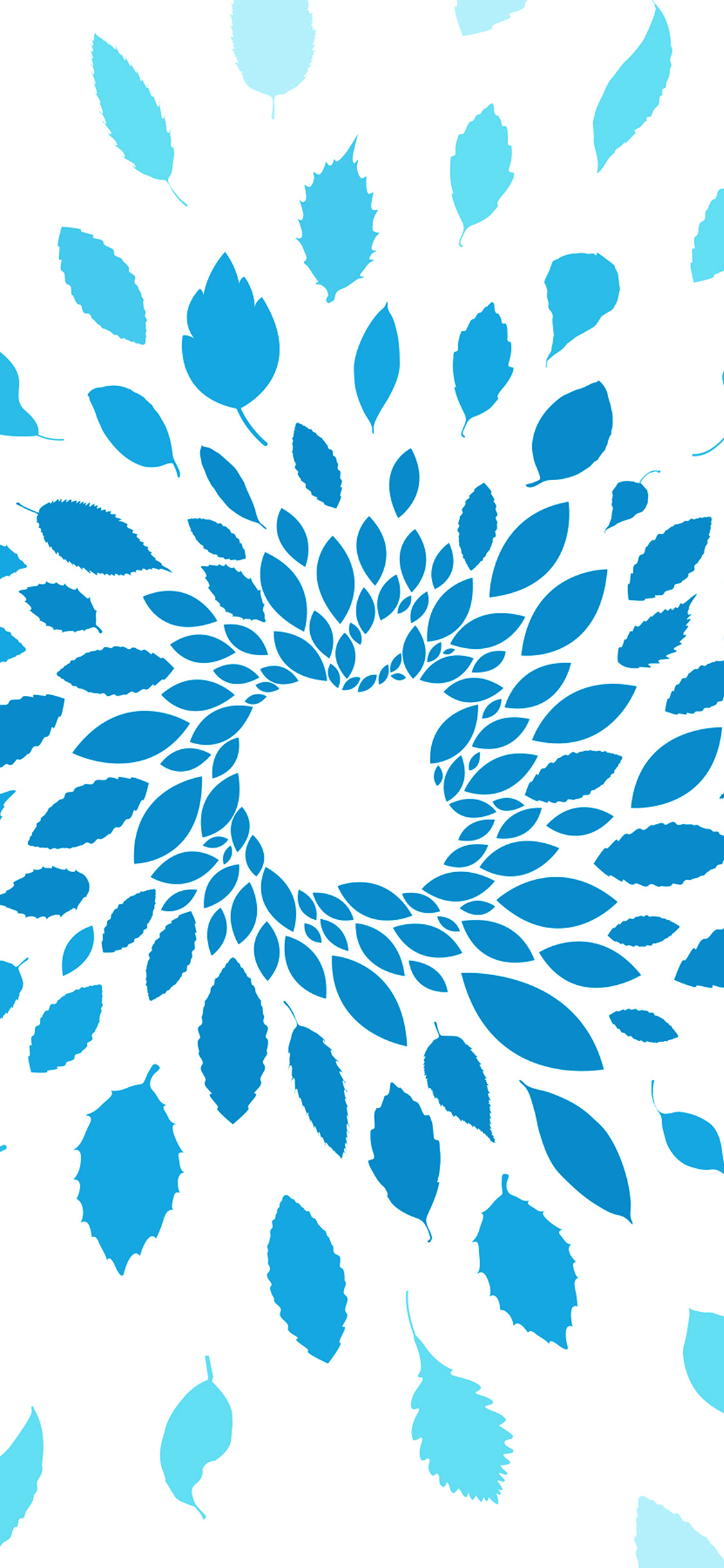 iPhoneXpapers.com-Apple-iPhone-wallpaper-vj77-apple-store-leafs-art-pattern-blue