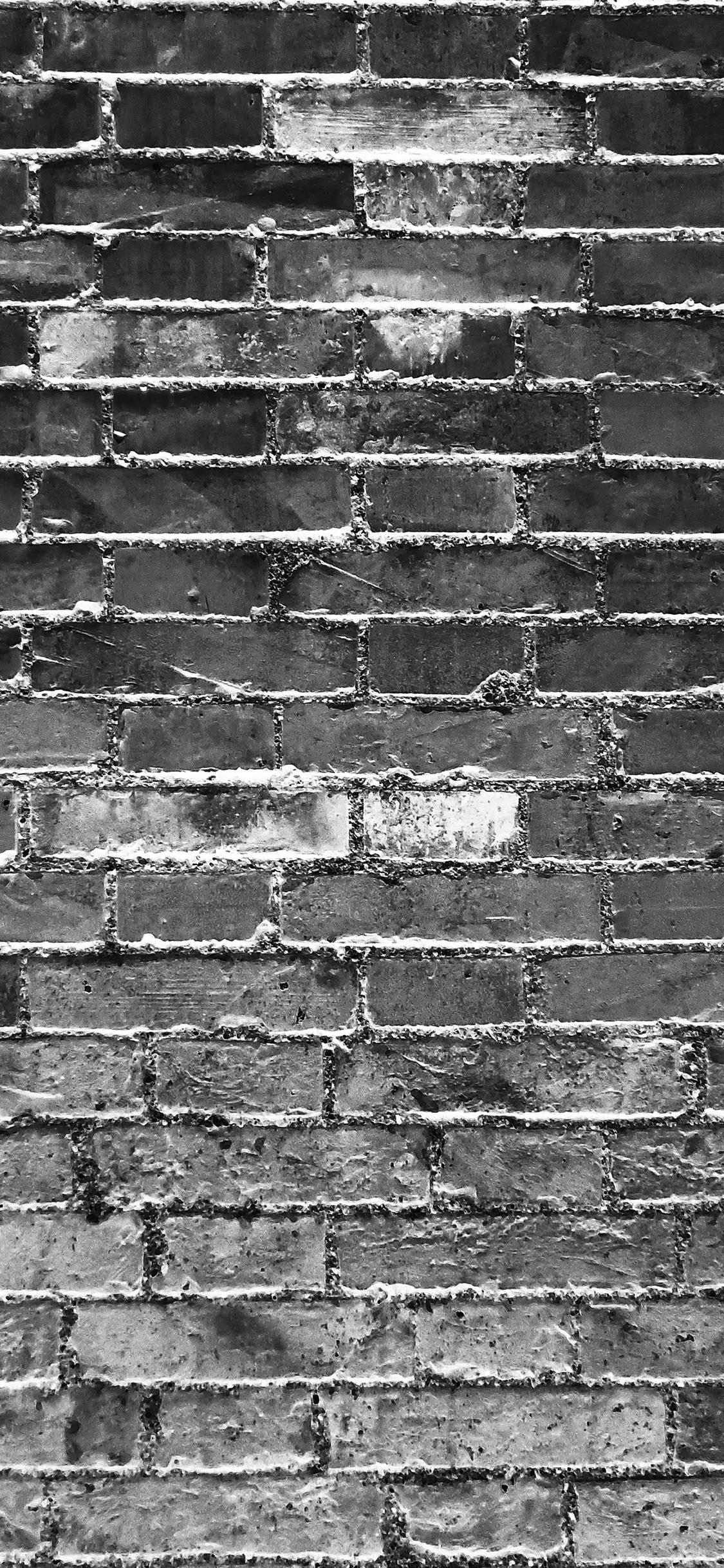 iPhoneXpapers.com-Apple-iPhone-wallpaper-vk11-dark-bw-wall-blocks-art-pattern