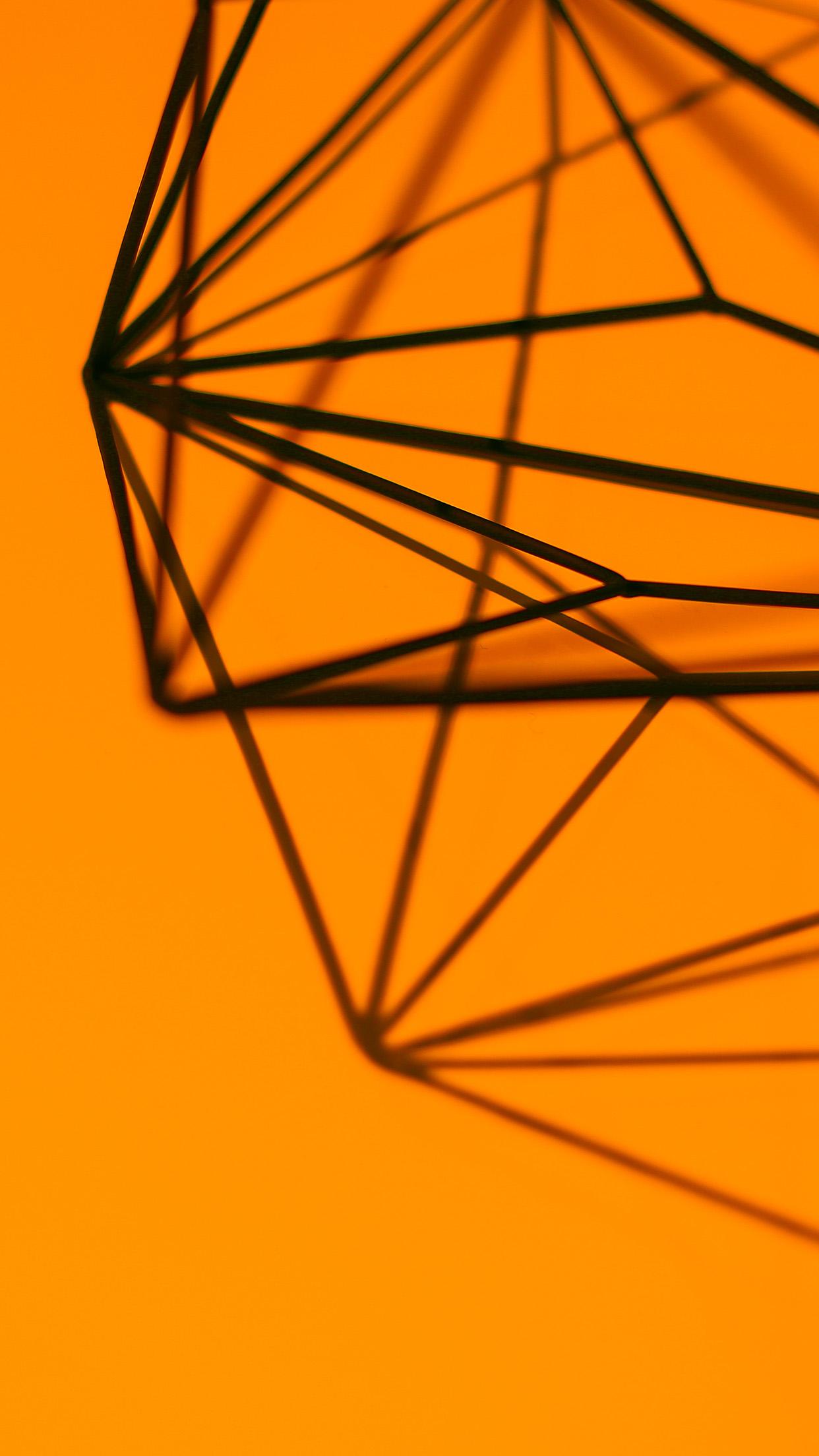 papers.co vk22 simple design deco orange pattern 34 iphone6 plus wallpaper
