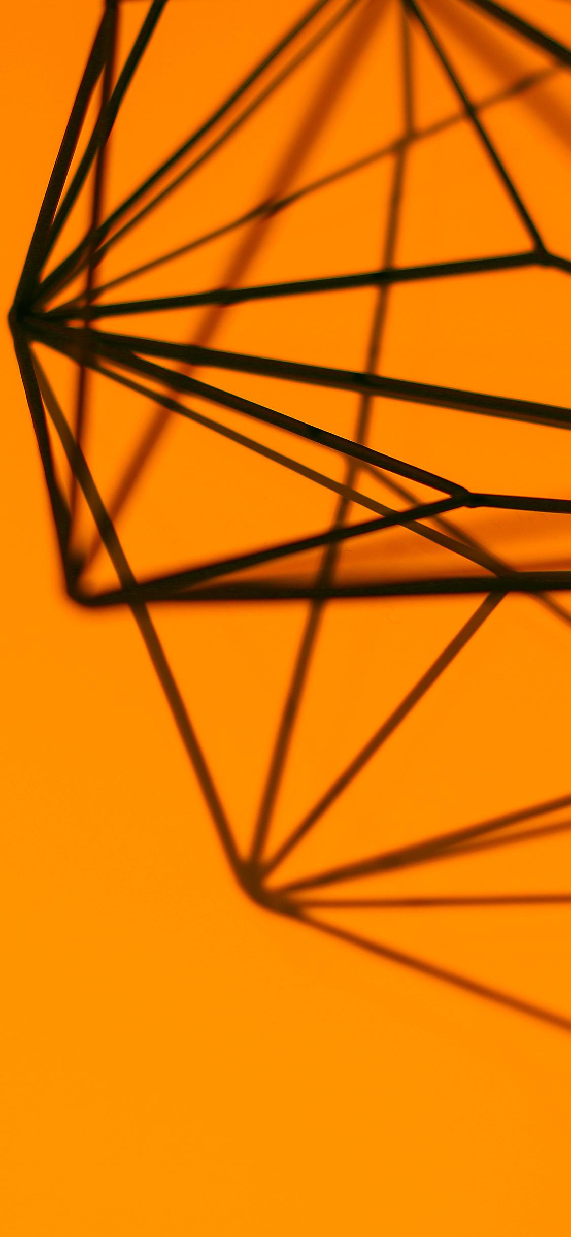 papers.co vk22 simple design deco orange pattern 41 iphone wallpaper