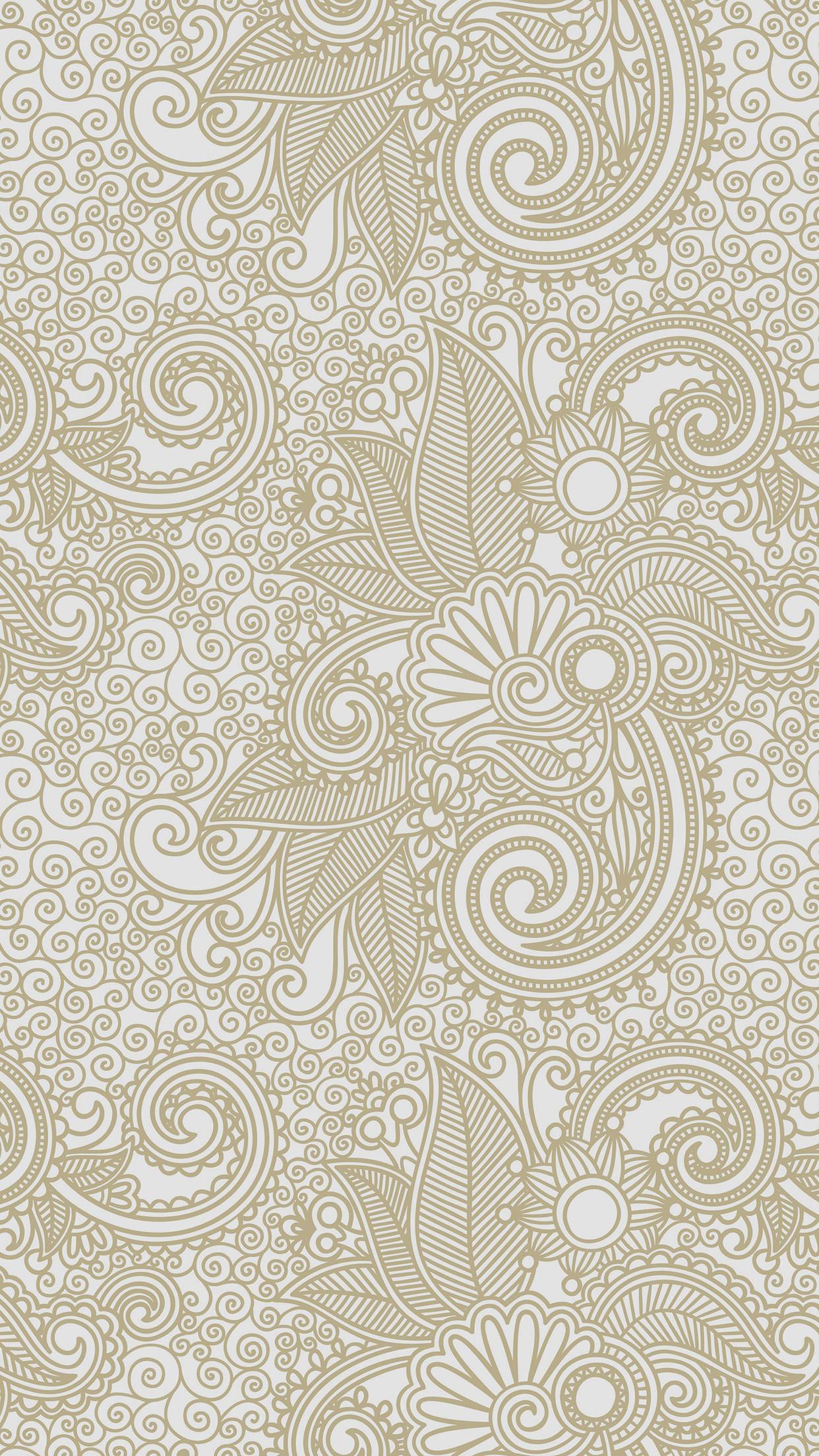 Iphone7papers Vk27 Wallpaper Design Flower Line Pattern