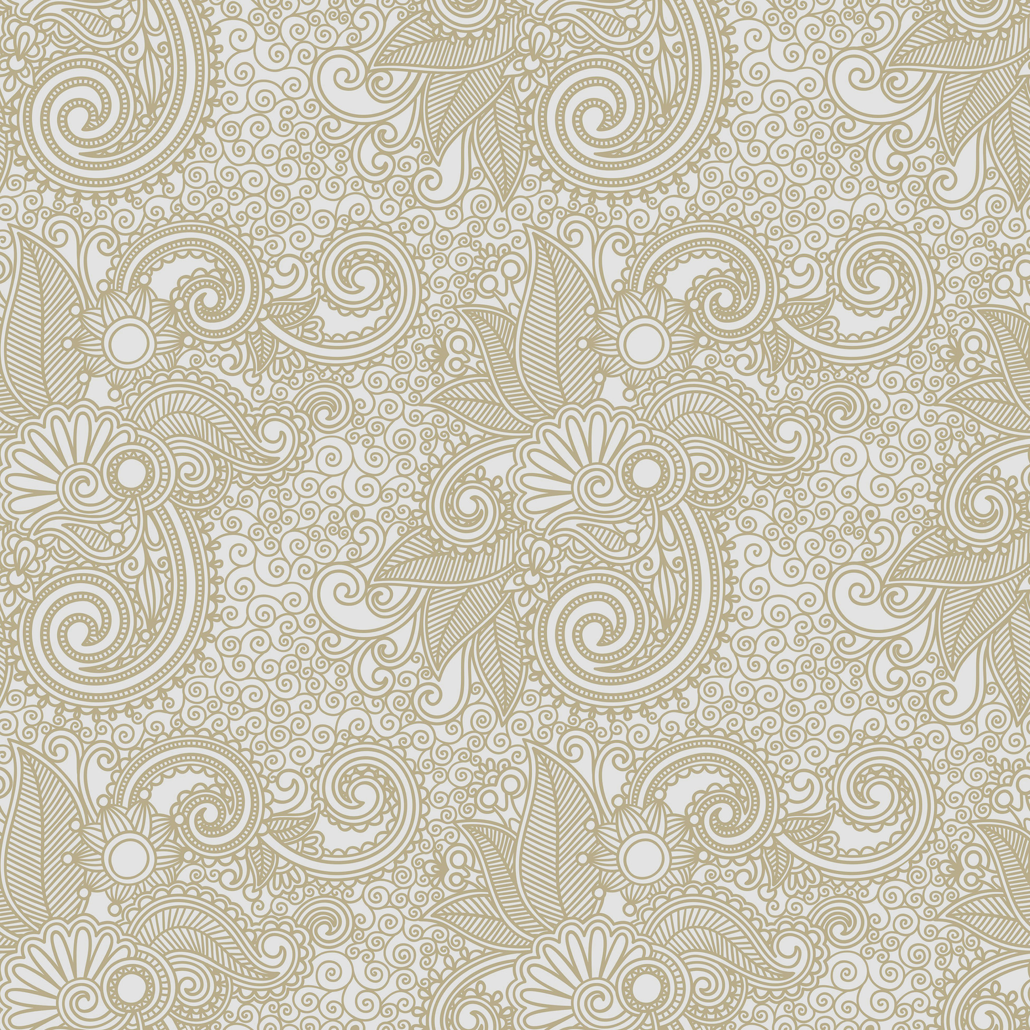 Vk27 Wallpaper Design Flower Line Pattern Papers