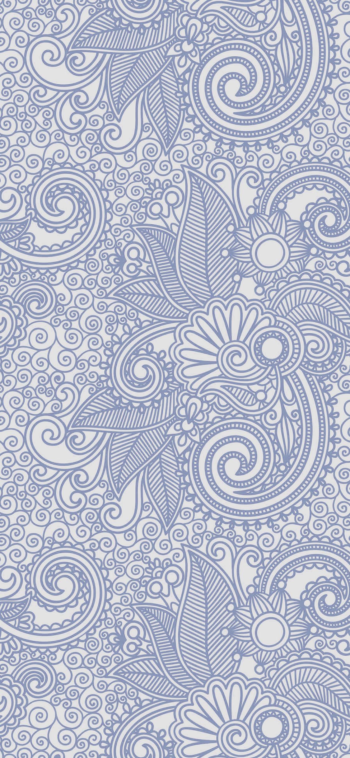 iPhonexpapers.com-Apple-iPhone-wallpaper-vk28-wallpaper-design-flower-line-blue-pattern