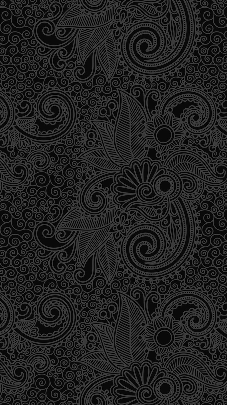 Papers.co-iPhone5-iphone6-plus-wallpaper-vk29-wallpaper-design-flower-line-dark-bw-pattern