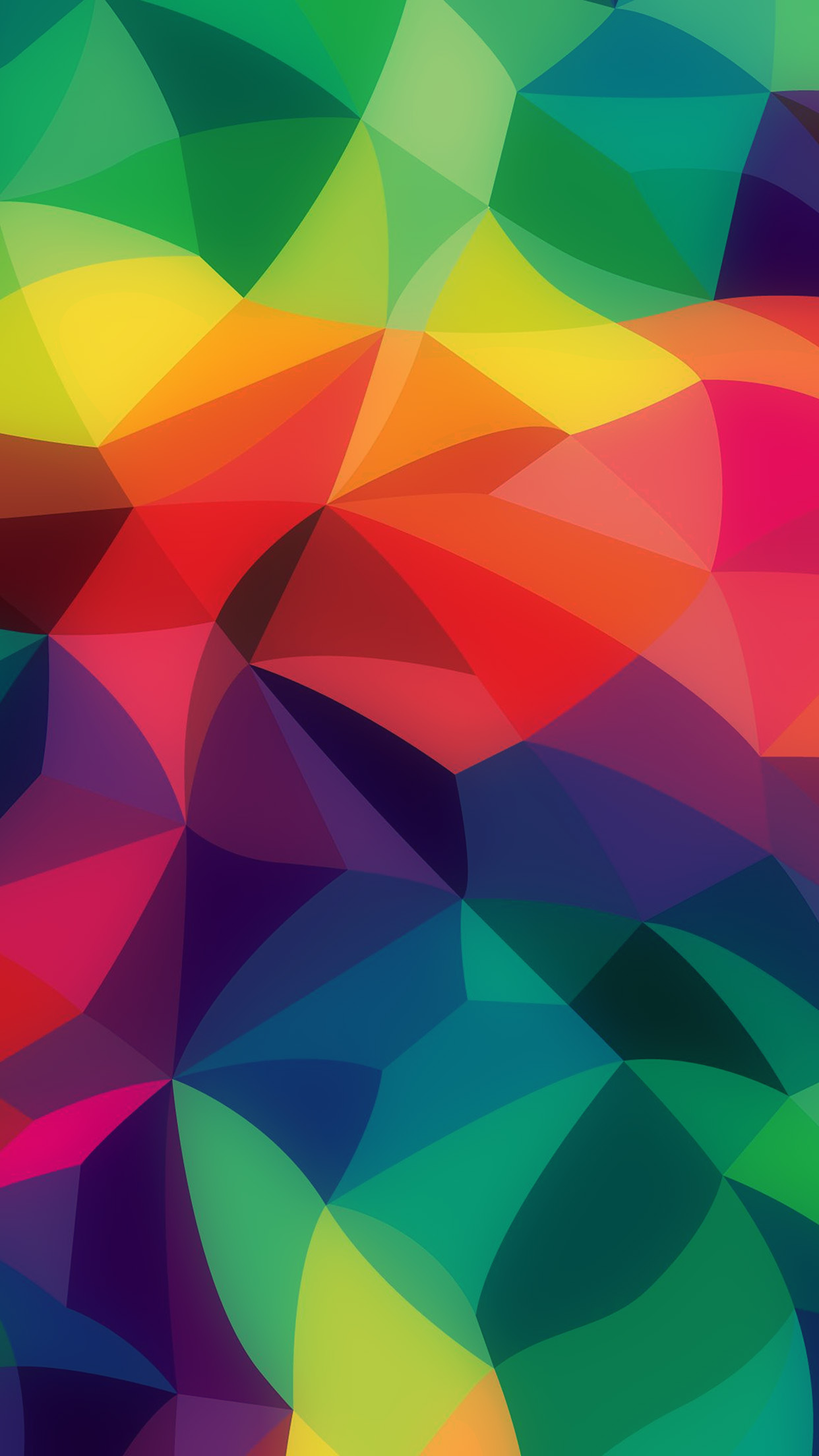 Vk42 Rainbow Abstract Colors Pastel Dark Pattern Wallpaper