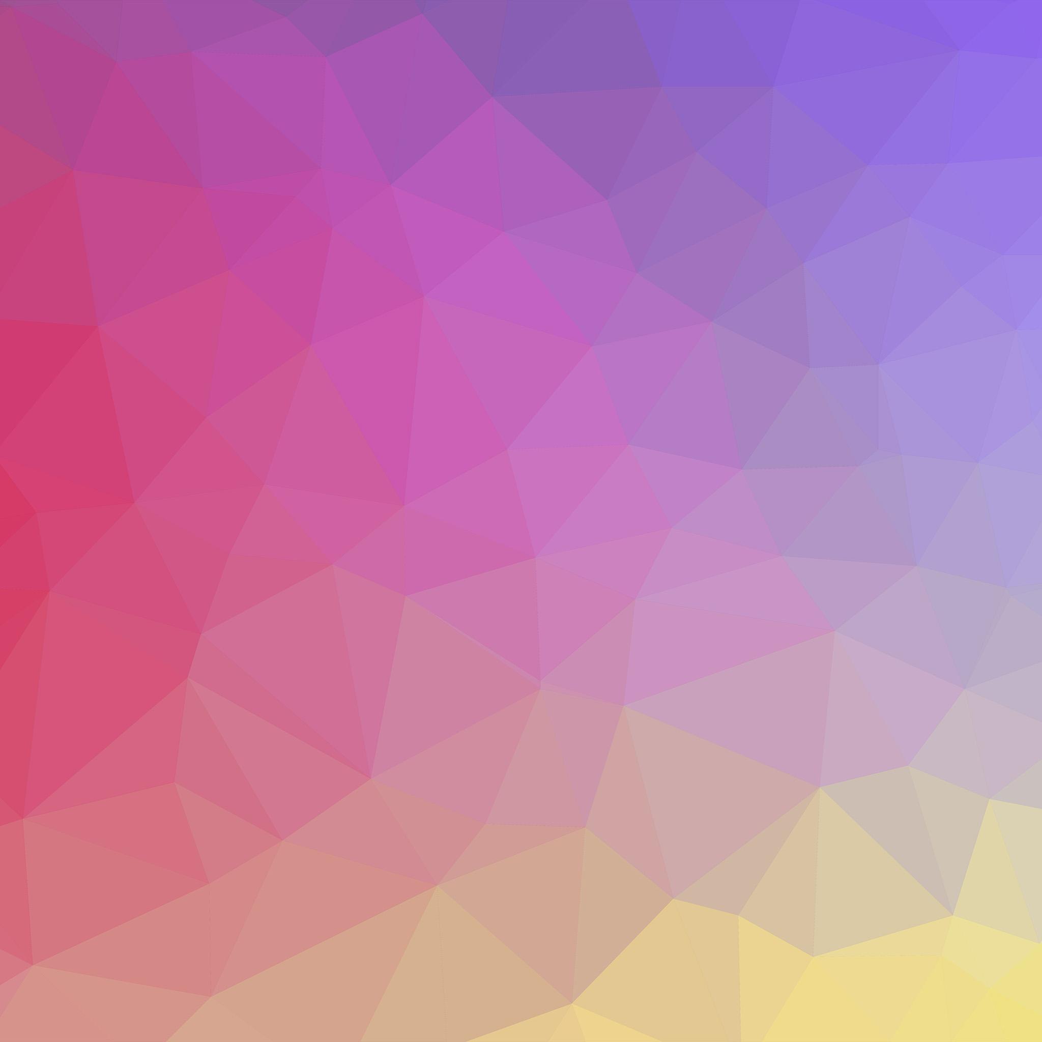 Vk65 Samsung Galaxy Polyart Pastel Pink Yellow Pattern