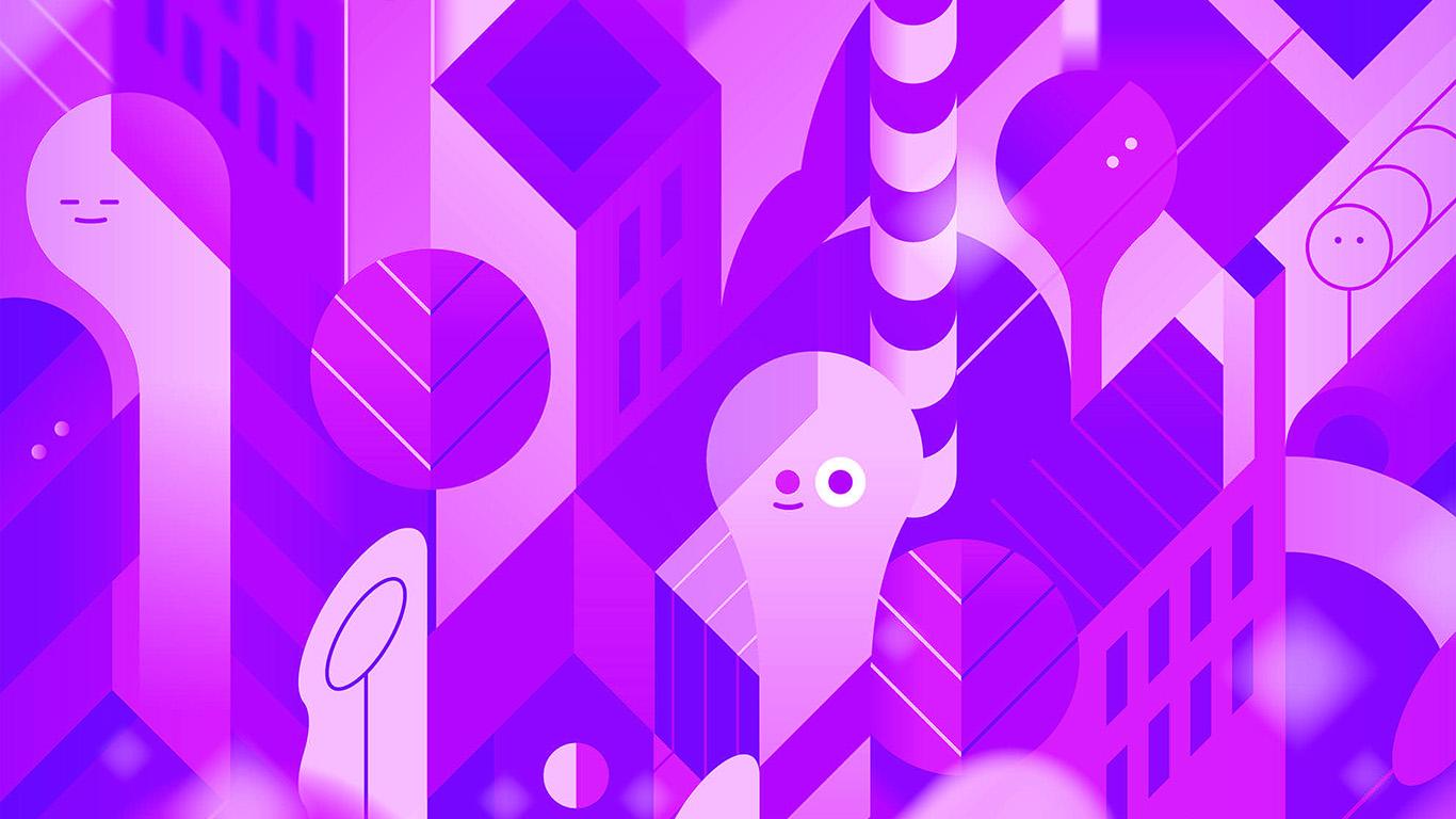 desktop-wallpaper-laptop-mac-macbook-air-vk89-android-lollipop-lg-purple-cute-illust-pattern-wallpaper