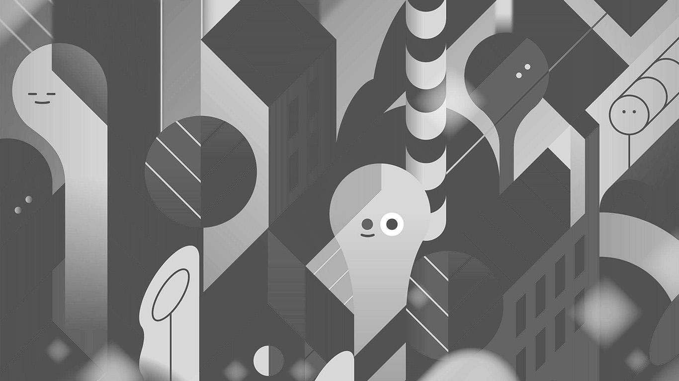 desktop-wallpaper-laptop-mac-macbook-air-vk91-android-lollipop-lg-dark-bw-cute-illust-pattern-wallpaper