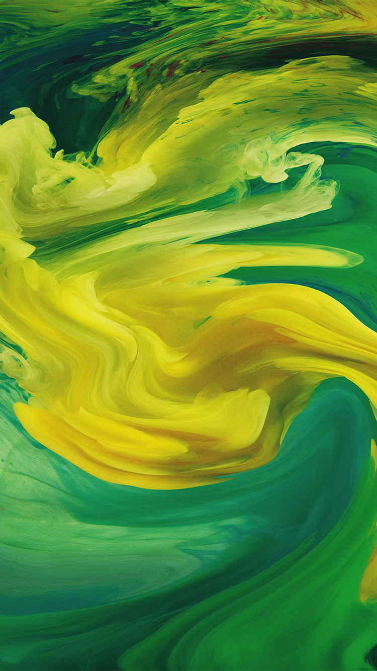 iPhonepapers.com-Apple-iPhone8-wallpaper-vl07-hurricane-swirl-abstract-art-paint-green-pattern