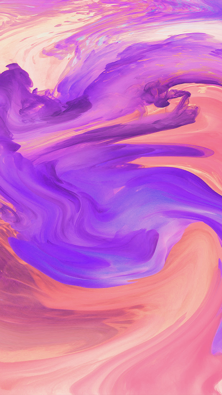 iPhonepapers.com-Apple-iPhone-wallpaper-vl08-hurricane-swirl-abstract-art-paint-purple-pattern