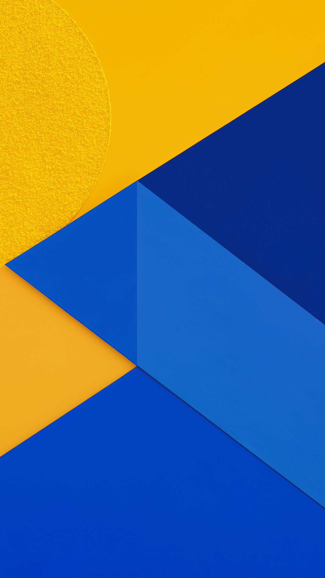 vl17-android-marshmallow-new-blue-yellow-pattern - Papers.co