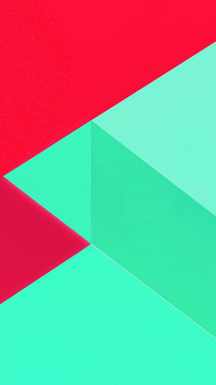 iPhone7papers.com-Apple-iPhone7-iphone7plus-wallpaper-vl19-android-marshmallow-new-green-red-pattern