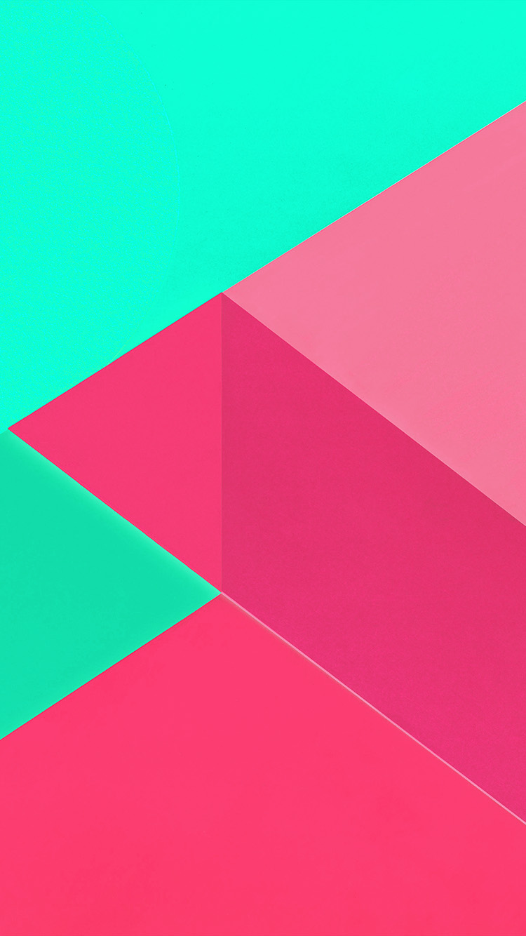 iPhone7papers.com-Apple-iPhone7-iphone7plus-wallpaper-vl20-android-marshmallow-new-green-pink-pattern