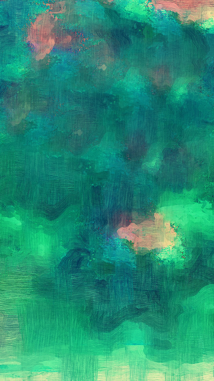 iPhone7papers.com-Apple-iPhone7-iphone7plus-wallpaper-vl23-samsung-galaxy-green-texture-art-oil-painting-pattern