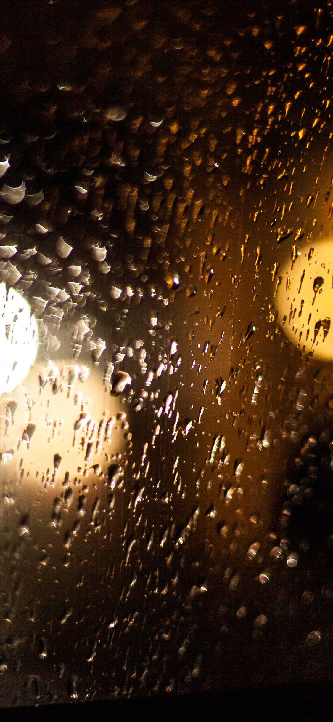 iPhoneXpapers.com-Apple-iPhone-wallpaper-vl43-rainy-night-drops-bokeh-orange-pattern