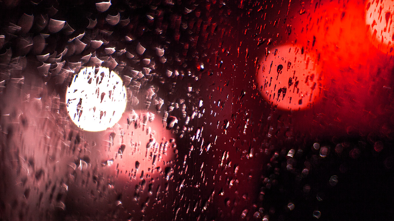 desktop-wallpaper-laptop-mac-macbook-air-vl44-rainy-night-drops-bokeh-red-light-pattern-wallpaper