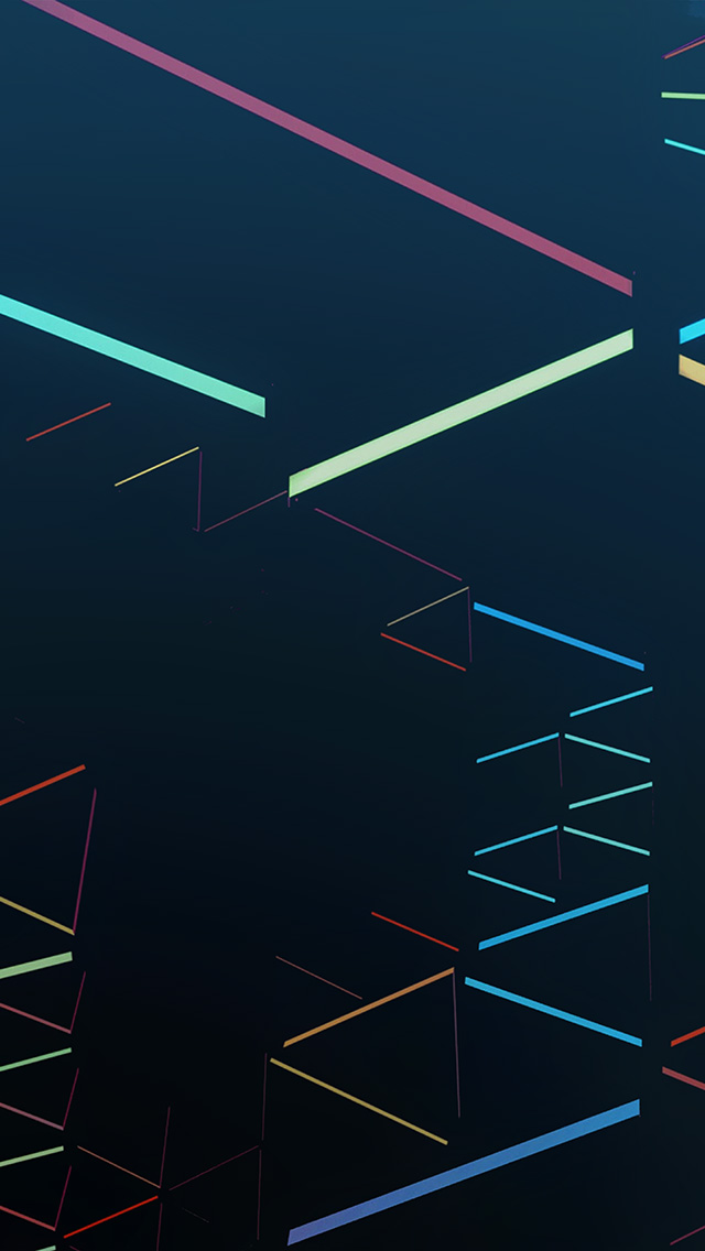 Iphonepapers Vl49 Nexus 7 Abstract Line Rainbow Blue Pattern