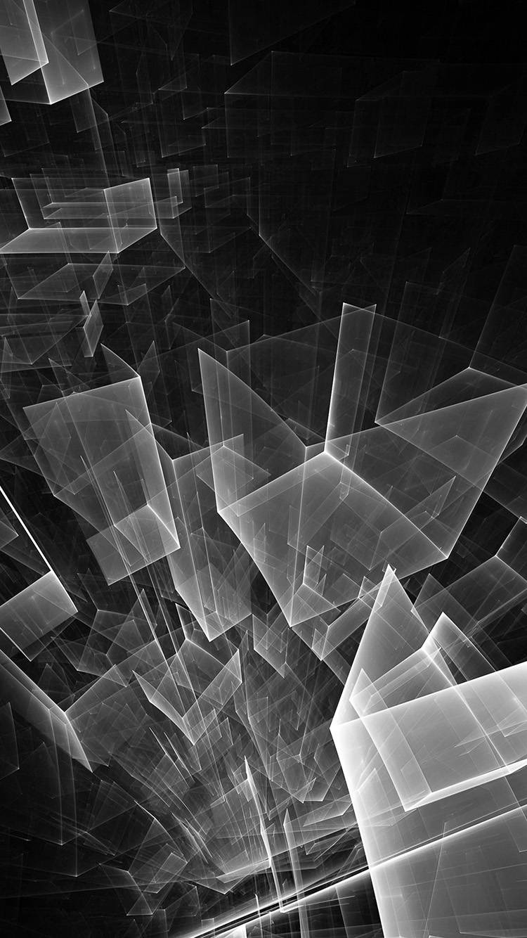 Papers.co-iPhone5-iphone6-plus-wallpaper-vl90-abstract-bw-dark-cube-pattern