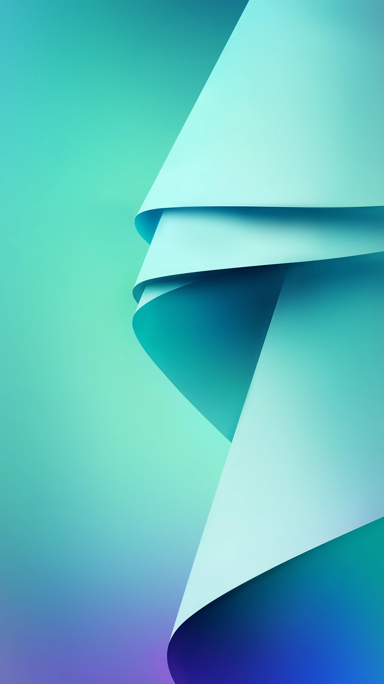 Blue And Green Living Room Ideas: Vm59-blue-green-abstract-pattern-wallpaper