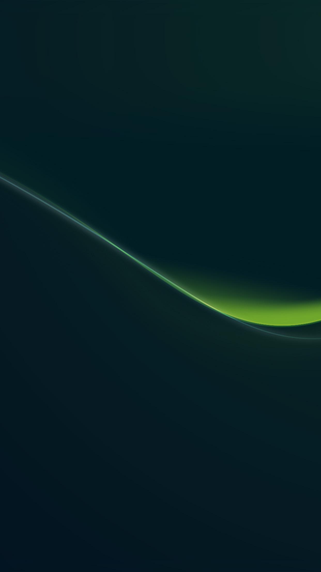 Iphonepapers Com Iphone 8 Wallpaper Vn38 Green Line Dark