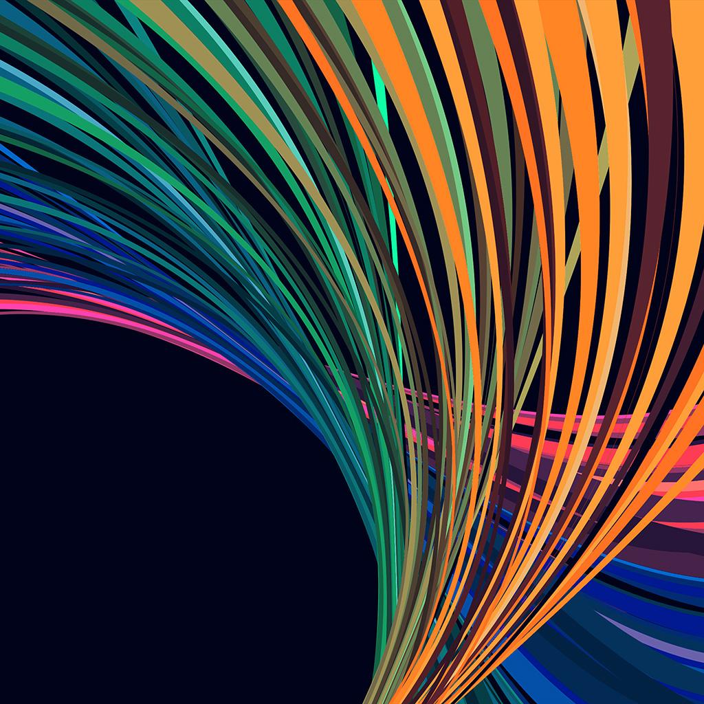 Line Art Wallpaper : Vn rainbow line vector art pattern blue