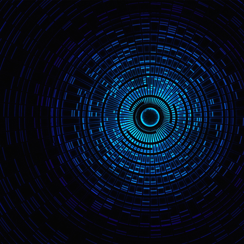 Circle Wallpaper: Vn95-circle-hole-blue-abstract-pattern-wallpaper
