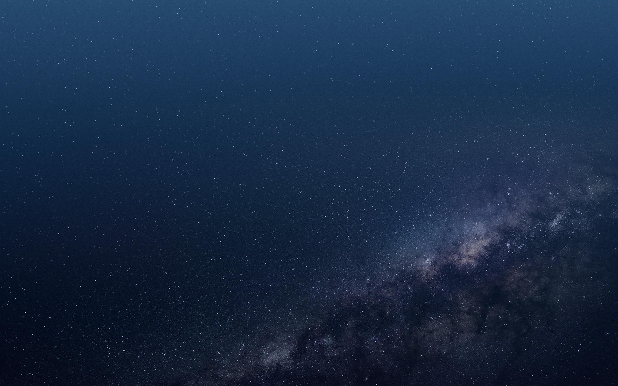 Vo56 Space Blue Star Dark Pattern Wallpaper