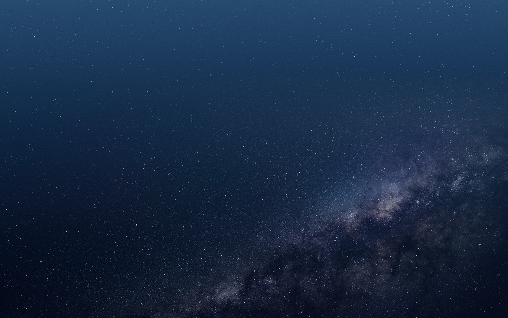 Vo56 Space Blue Star Dark Pattern Wallpaper