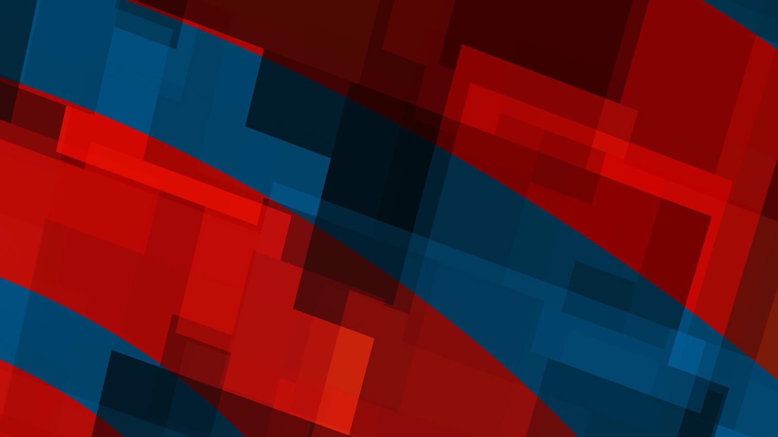 Wallpaper For Desktop Laptop Vo59 Art Red Blue Block