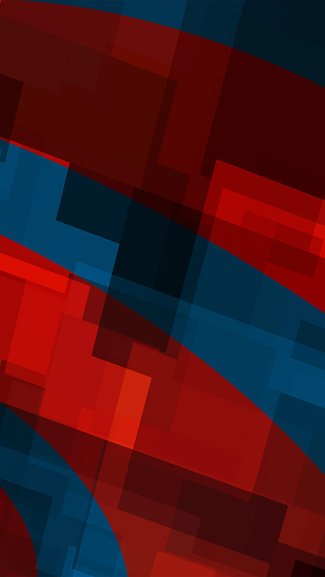 freeios8.com-iphone-4-5-6-plus-ipad-ios8-vo59-art-red-blue-block-angle-abstract-pattern