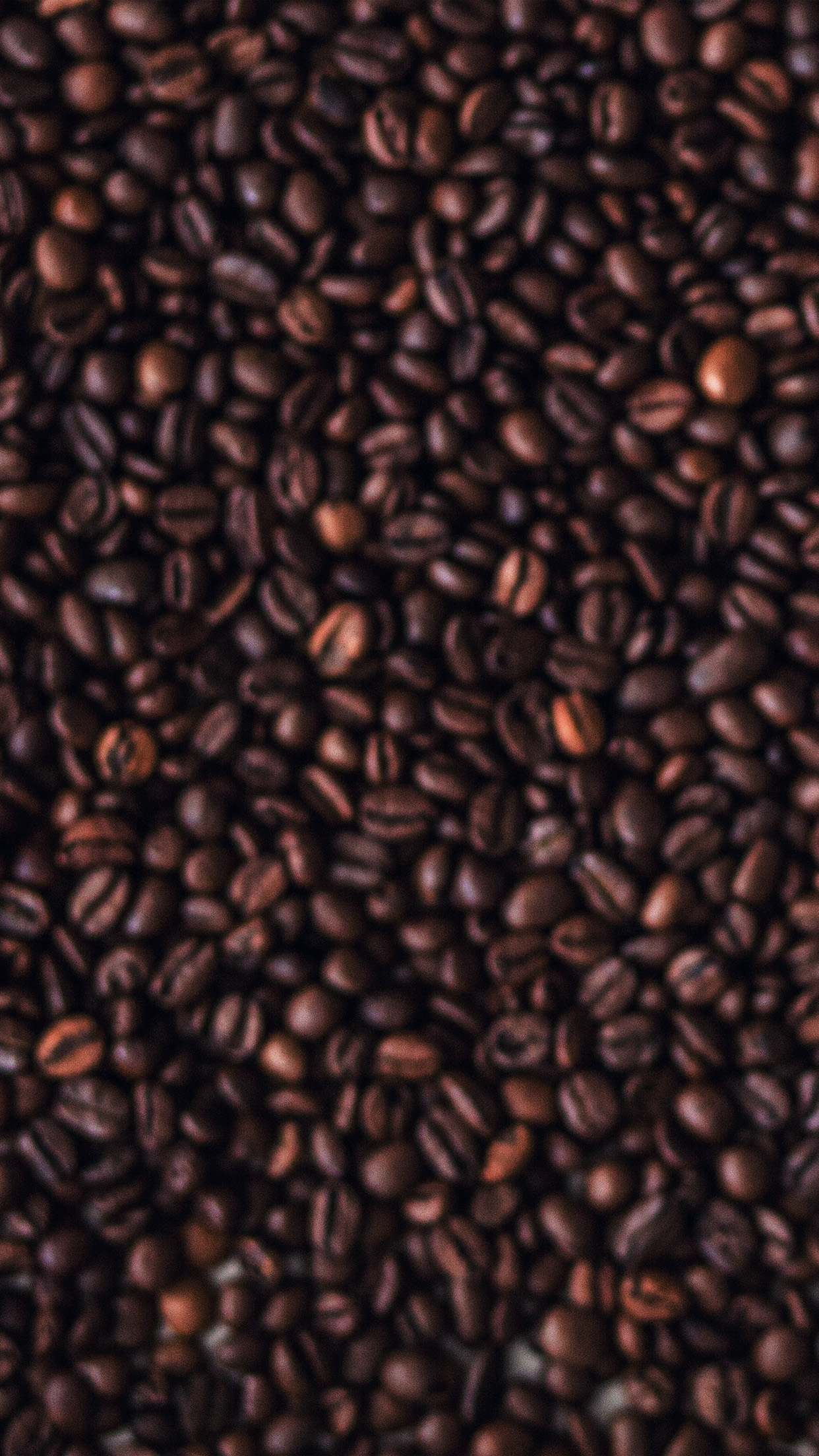 Vo70 Coffee Dark Bokeh Pattern Wallpaper