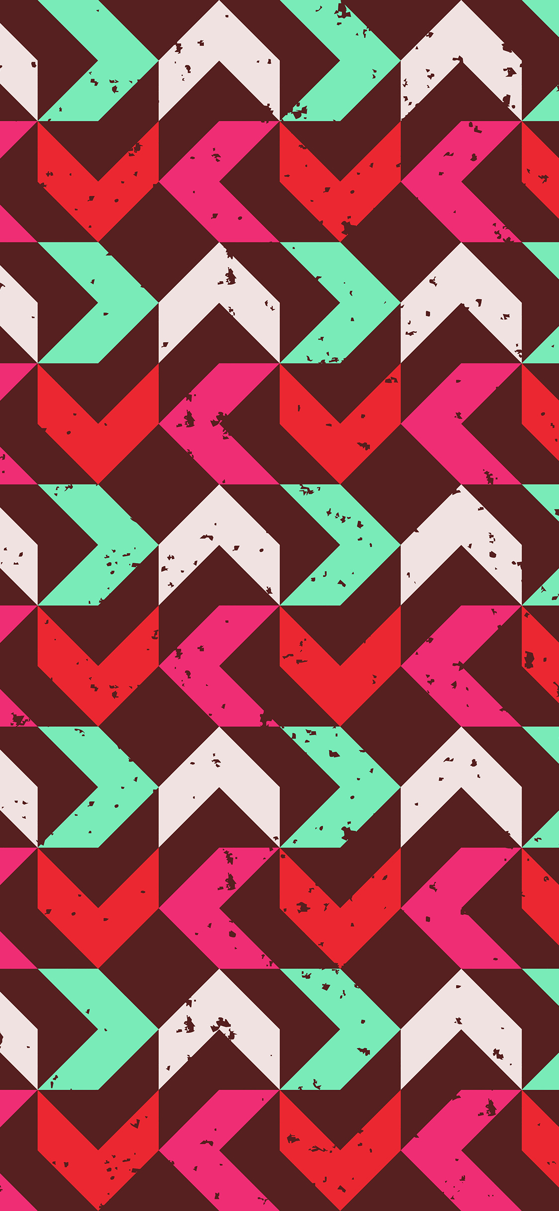 iPhonexpapers.com-Apple-iPhone-wallpaper-vo73-retro-red-pink-pattern-grunge